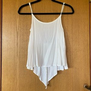 Olivaceous white tank